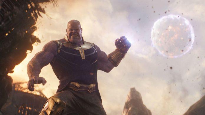 Thanos em Vingadores Guerra Infinita