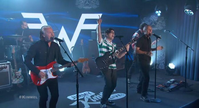 Weezer e Tears For Fears no Jimmy Kimmel