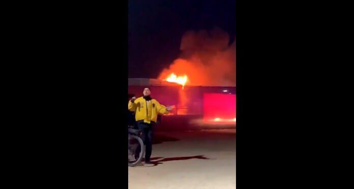 Pequeno incêndio no Coachella 2019