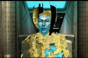 David Bowie em Omikron: The Nomad Soul