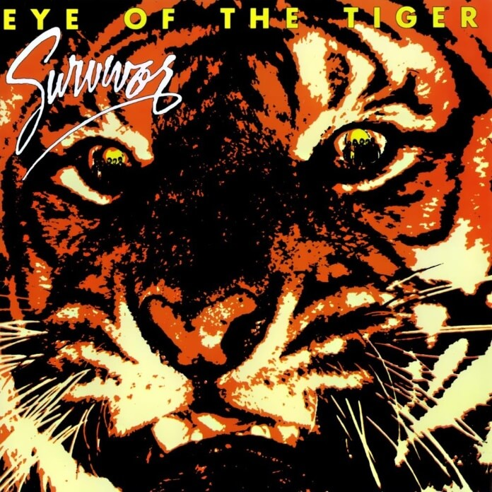 Capa do disco Eye Of The Tiger