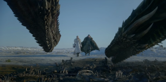 Game of Thrones - Daenerys, Jon Snow e os dragões