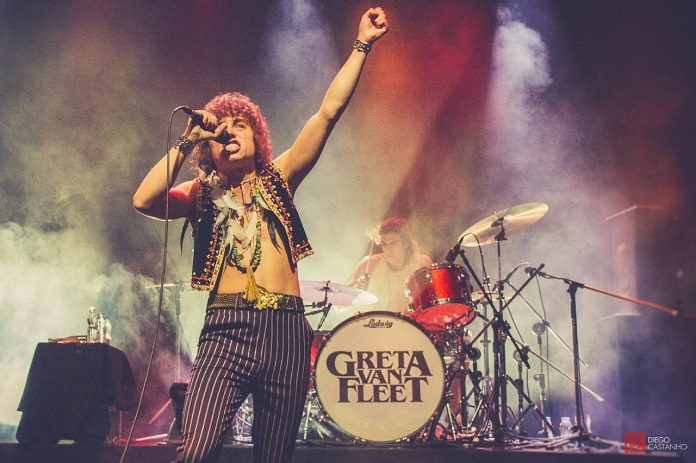 Greta Van Fleet no Rio de Janeiro