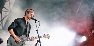 Paul Banks, Interpol, no Lollapalooza Brasil