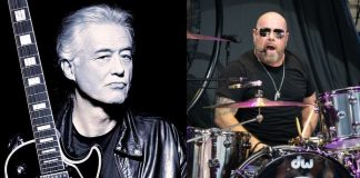 Jimmy Page e Jason Bonham