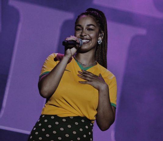 Jorja Smith no Lollapalooza 2019
