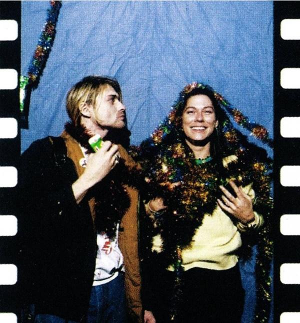 Kurt Cobain (Nirvana) e Kim Deal (Pixies)