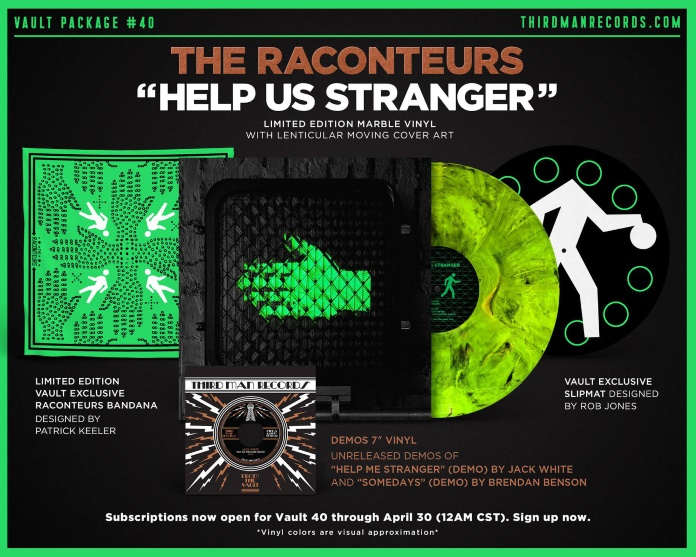 The Raconteurs - Hel Us Stranger