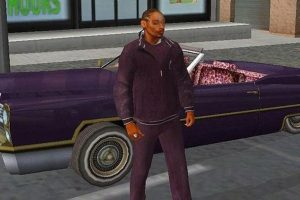 Snoop Dogg em True Crime: Streets of L.A.