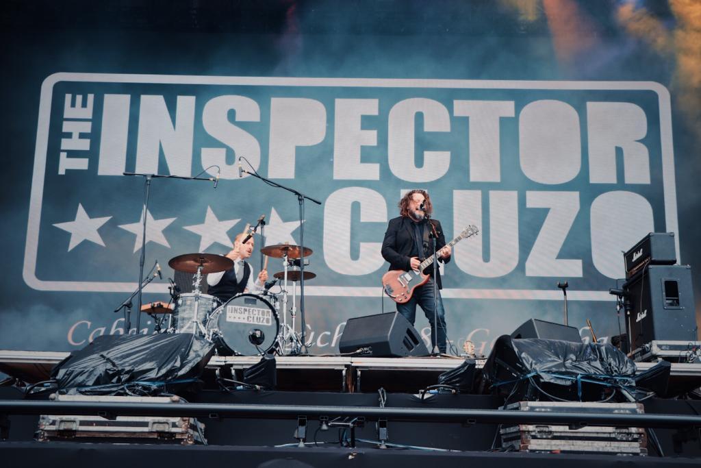 The Inspector Cluzo no Lollapalooza Brasil