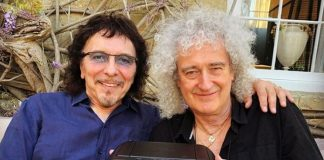Tony Iommi e Brian May