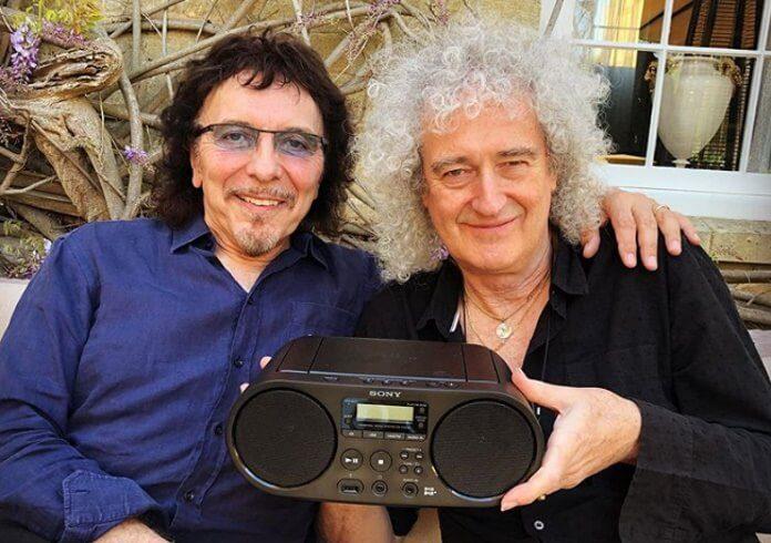 Tony Iommi e Brian May