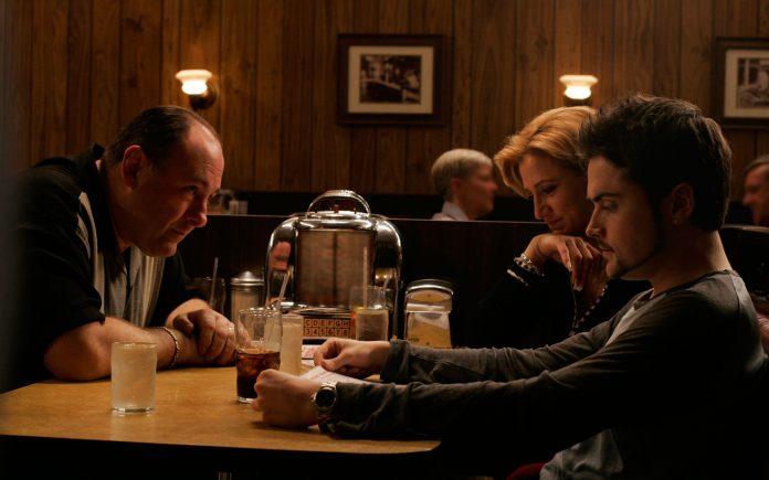 Cena final de Sopranos