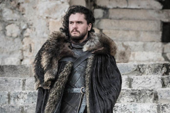 Jon Snow no season finale de Game of Thrones
