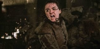 Arya Stark (Maisie Williams) em Game of Thrones