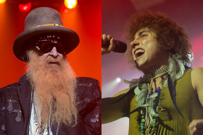 Billy Gibbons (ZZ Top) e Greta Van Fleet