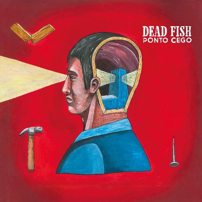 """Capa de """"Ponto Cego"""" (Dead Fish)"""