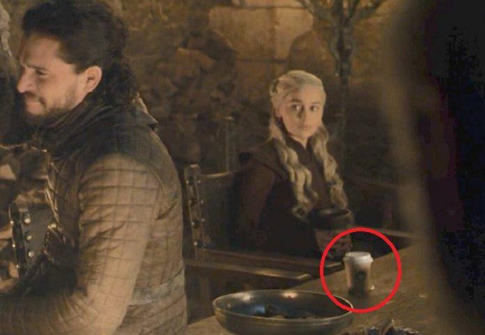 Game of Thrones copo do Starbucks