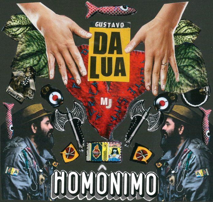 "Capa de ""Homônimo"" (Gustavo Da Lua)"