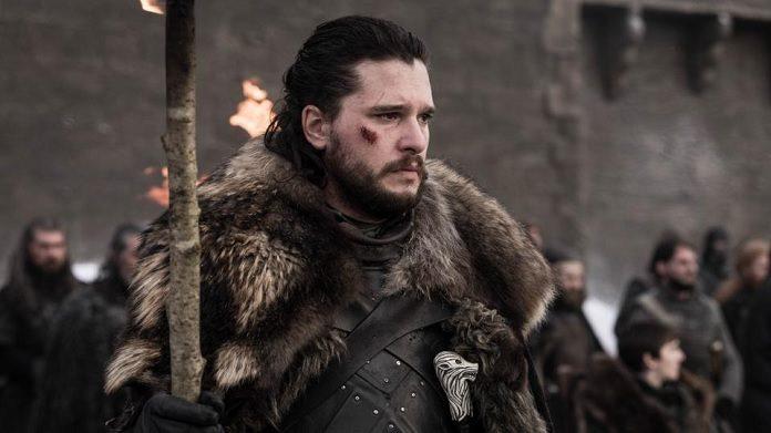 Jon Snow (Kit Harington) em Game of Thrones Emmy Awards