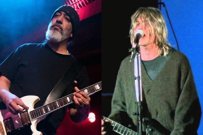Kim Thayil (Soundgarden) e Kurt Cobain (Nirvana)