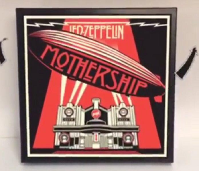 Led Zeppelin Mothership Discos Animados