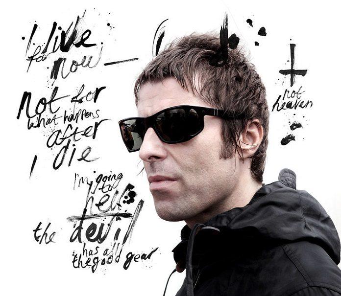 Liam Gallagher por Andrew Cotterill e Ben Tallon