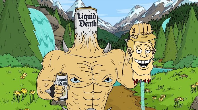 Liquid Death Água para Punks