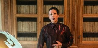 Marilyn Manson The New Pope Capa