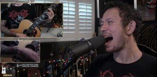 Matt Heafy tocando Slipknot