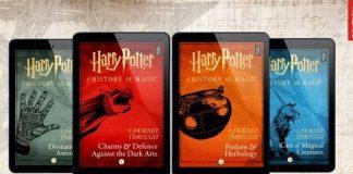 Novos livros de Harry Potter, por J.K. Rowling