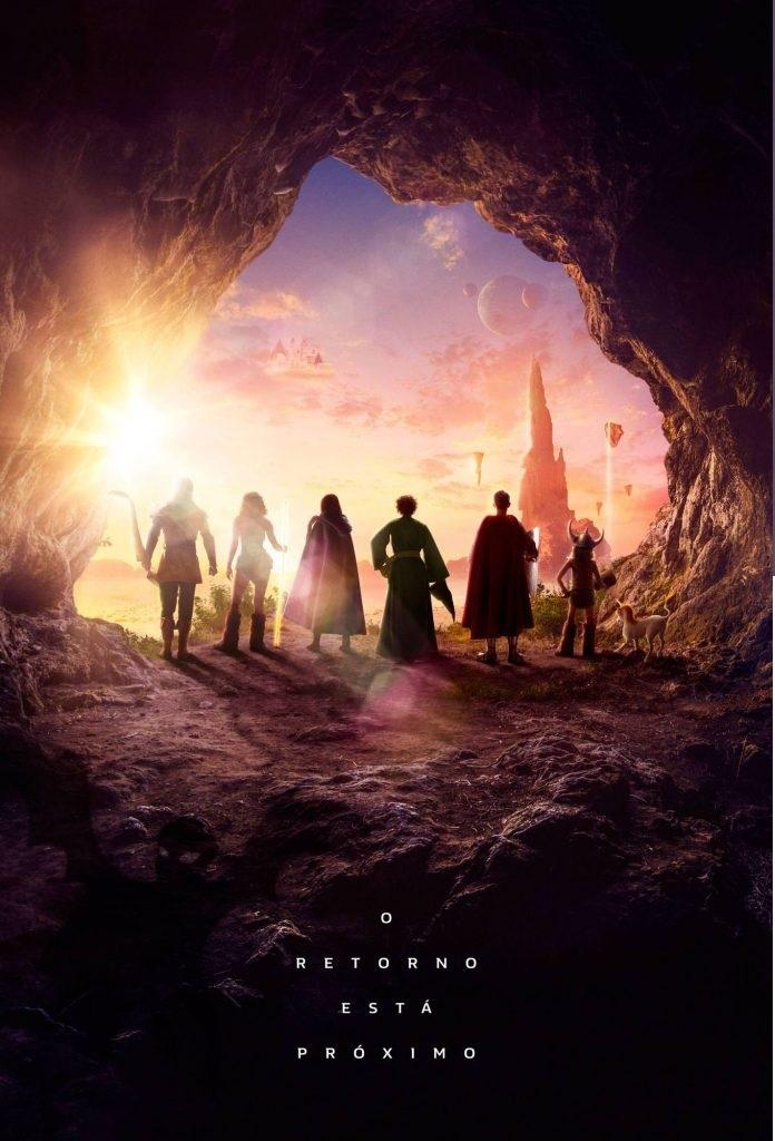 Pôster Caverna do Dragão
