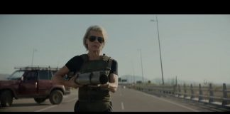 Sarah Connor (Linda Hamilton) em Exterminador do Futuro