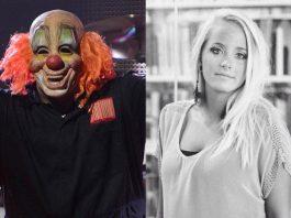 Shawn Clown Crahan (Slipknot) e Gabrielle