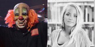 Shawn Crahan (Slipknot) e Gabrielle