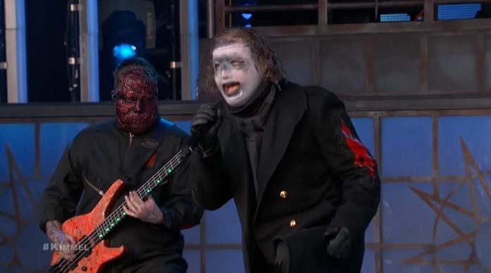 Slipknot no Jimmy Kimmel