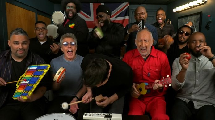 The Who instrumentos de criança Jimmy Fallon
