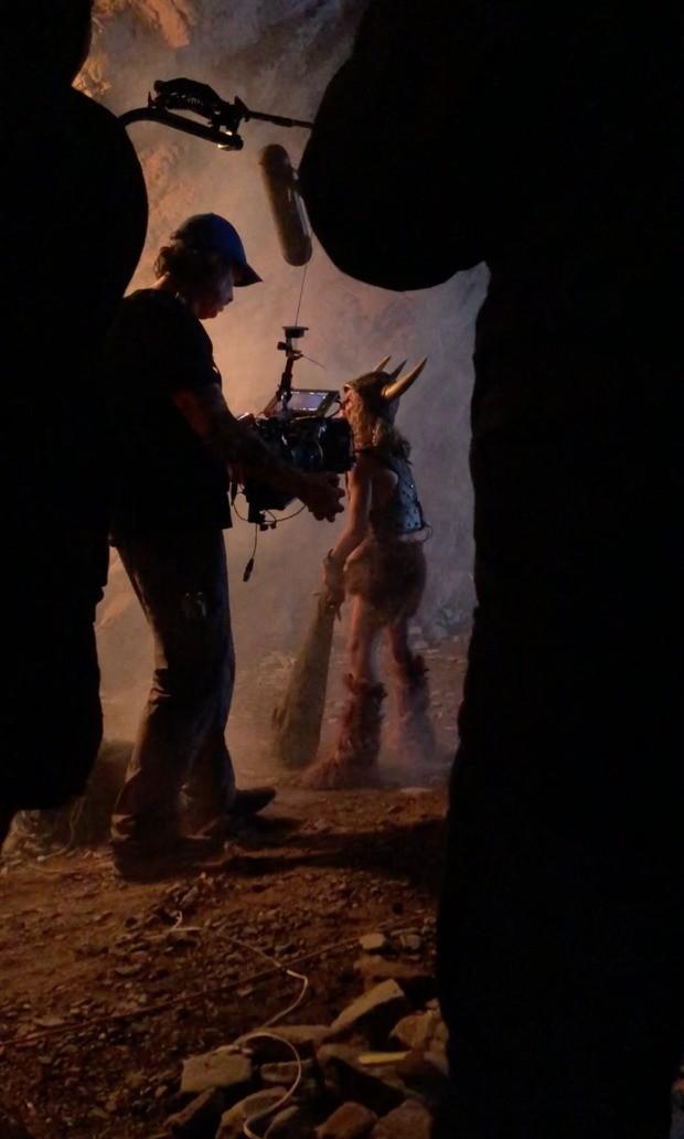 Suposto set de filmagens de Caverna do Dragão