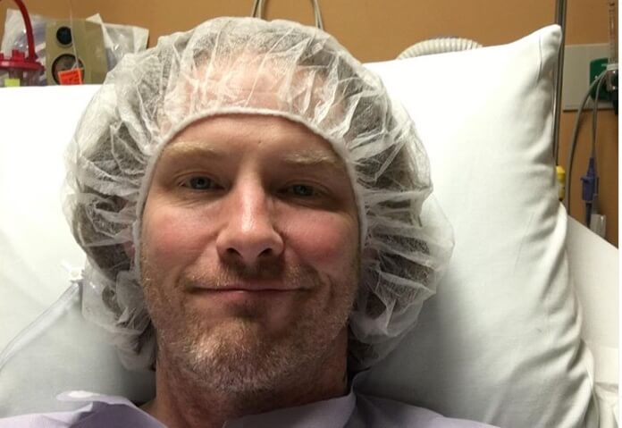 Corey Taylor no hospital