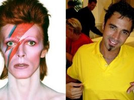 David Bowie e Latino