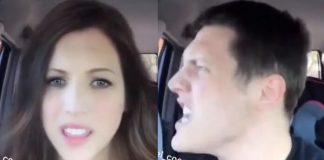 Fã canta Evanescence com filtro do Snapchat