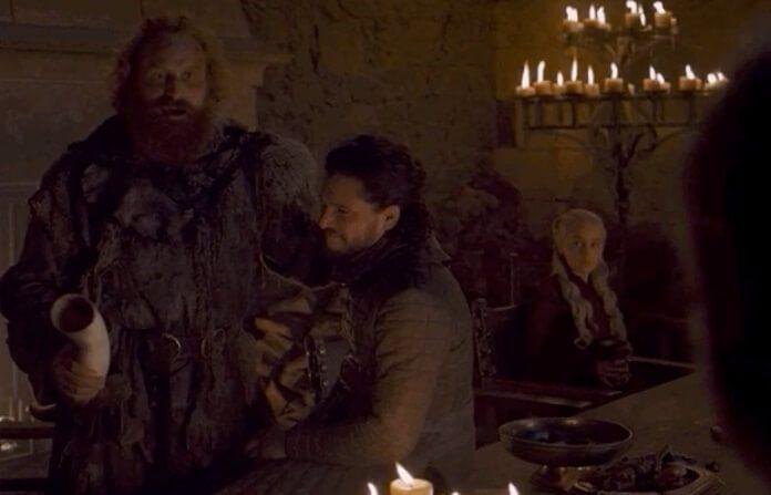 Cena de Game Of Thrones sem o café