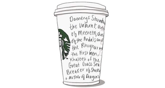 Café em Game Of Thrones