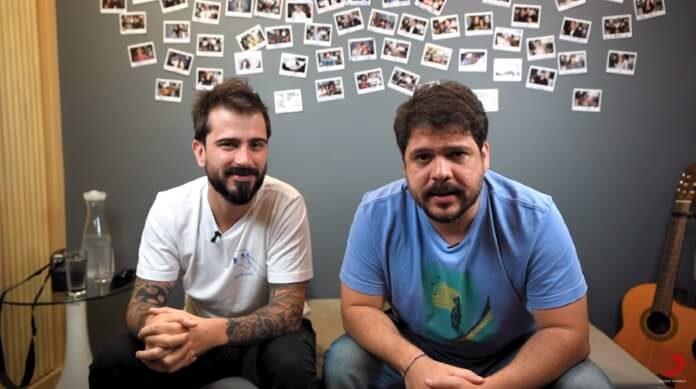 Guilherme Guedes e Caíto Mainier