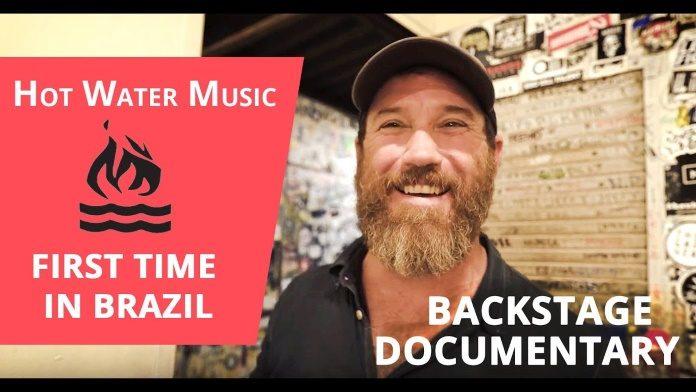 Primeira vez do Hot Water Music no Brasil