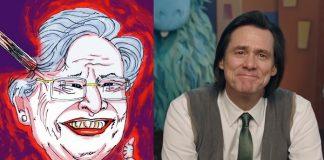 Jim Carrey e a pintura de Kay Ivey