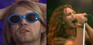 Kurt Cobain e Eddie Vedder