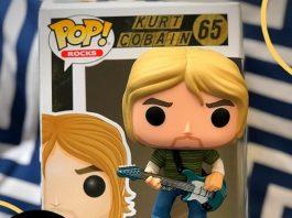Boneco Funko de Kurt Cobain (Nirvana)