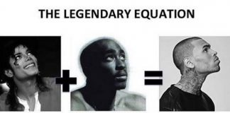 Michael Jackson, Tupac e Chris Brown