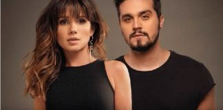 "Paula Fernandes e Luan Santana na capa de ""Juntos"""
